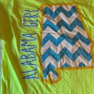 Alabama girl shirt NWOT